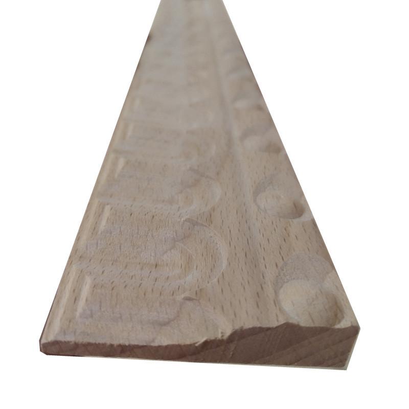 厂家  实木线条 实木装饰画框线条 雕花图案定制 批发生态原木