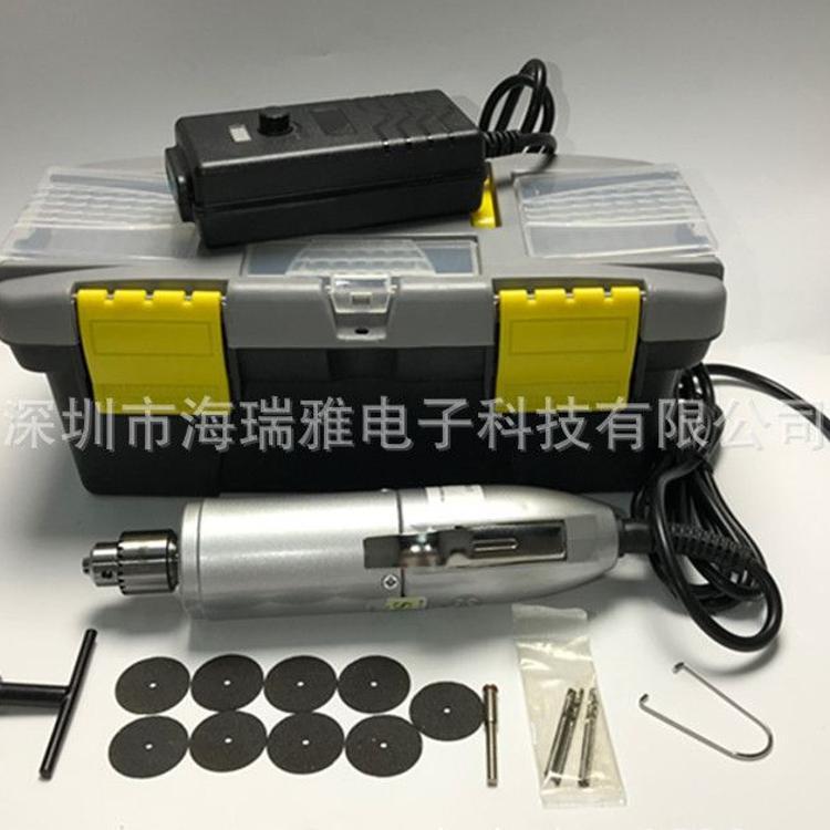 跨境P500-3无极调速迷你电钻手电钻0.3-4.0MM夹头切割钻孔正反转
