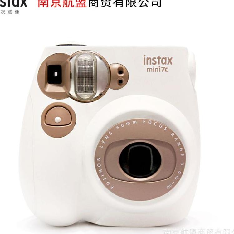 富士拍立得相机 mini7C奶咖拍立得相机mini9批发一次成像相机