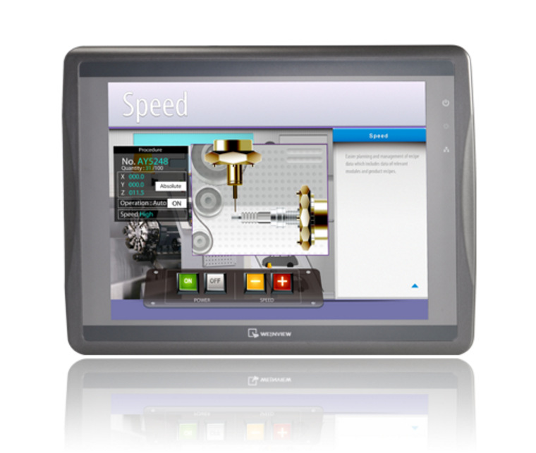 原装威纶触摸屏12.1寸MT8121iE威纶通人机界面点胶机专用触摸屏MT8121IE