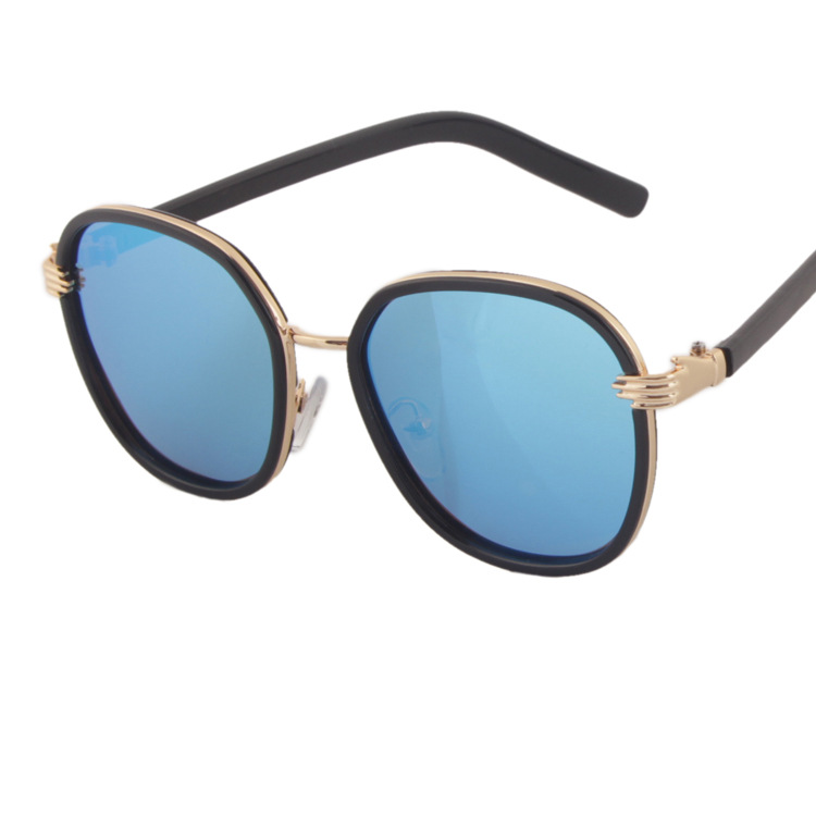 厂家直销炫彩潮流防紫外线儿童墨镜  时尚个性偏光太阳眼镜