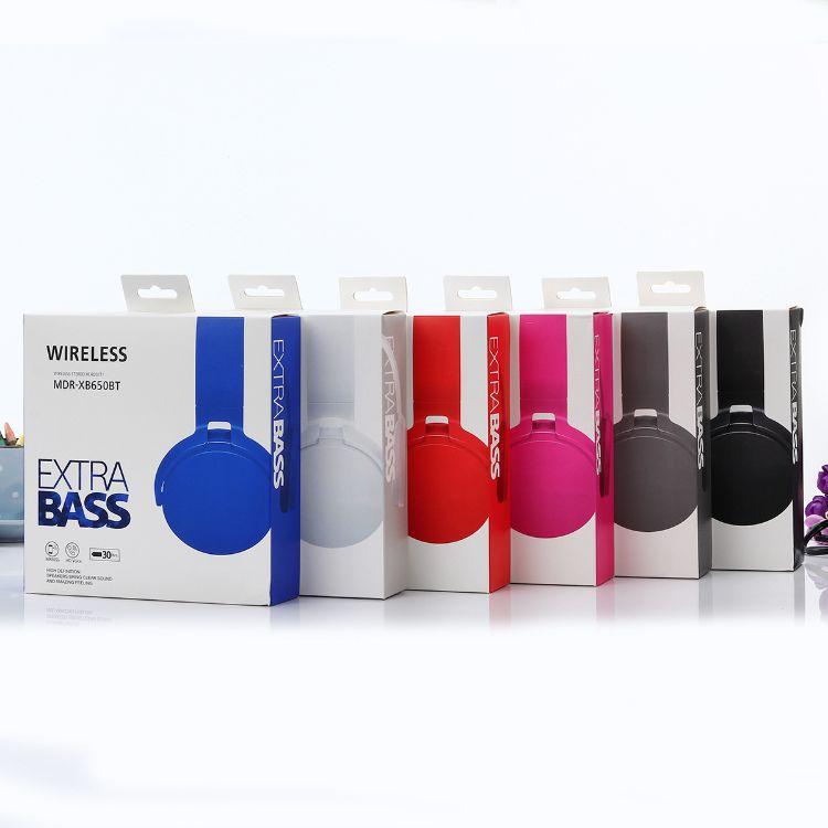 MDR-XB650BT蓝牙插卡耳机   金属片创意头戴式耳机 高档音质产品