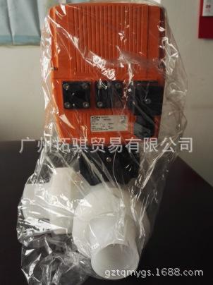 供应 GF PVDF电动隔膜阀 187型  PVDF 二位三通电动阀 T型 质优