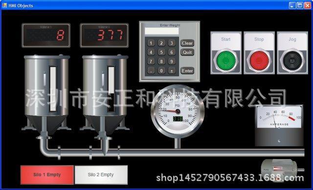 PC工控软件 定制开发 数控系统 自动化编程 自控系统