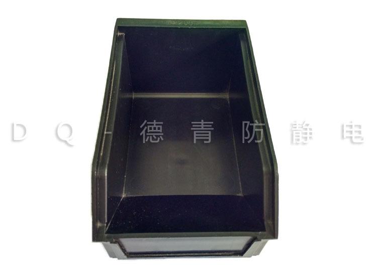 3#黑色元件物料盒 防静电斜口电子元件盒贴片零件盒 打折推荐
