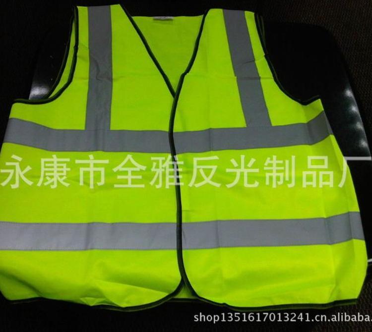 厂家直销反光衣服 荧光马甲背带安全背心 巡逻执勤施工夜光衣