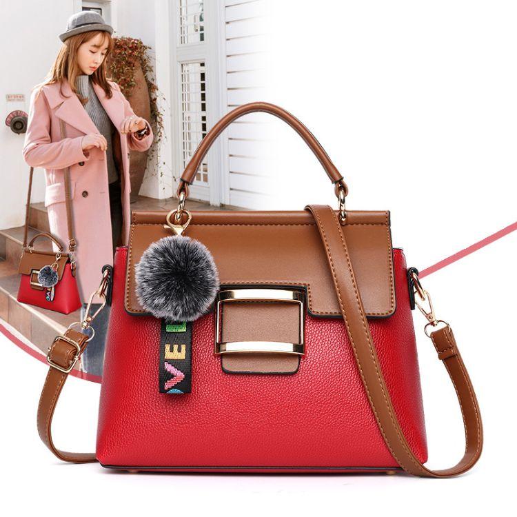 女士包包2018新款韩版时尚手提包单肩斜挎包包 厂家直销一件代发