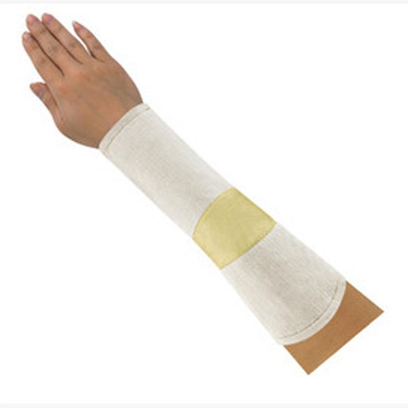 CASTONG NF毡护袖卡斯顿 耐高温耐割护臂平直袖口 米白色劳保袖套