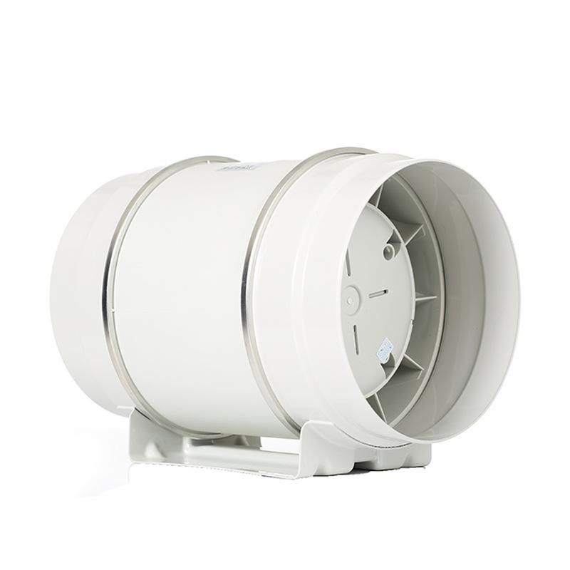 200增壓圓形管道風機 換氣扇強力抽風機 酒店學校新風靜音換氣機