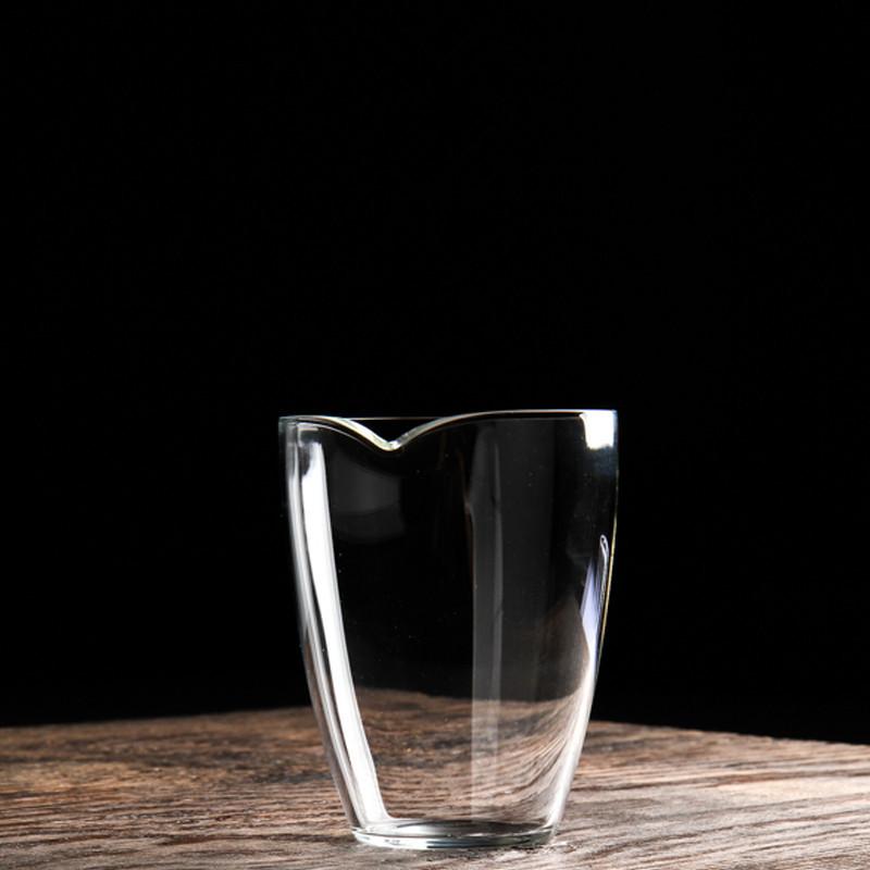 批发高硼硅玻璃杯200Ml公道杯玻璃水杯 茶杯 玻璃分茶器