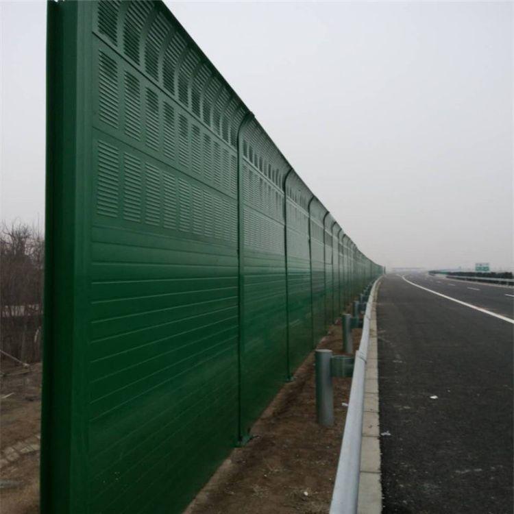消音降噪公路道路声屏障 凯鼎金属道路声屏障厂家 快速道路声屏障直销