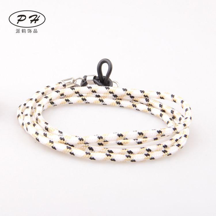 eaby 速卖通热卖欧美时尚潮流复古纯手工编织眼镜绳 厂家批发