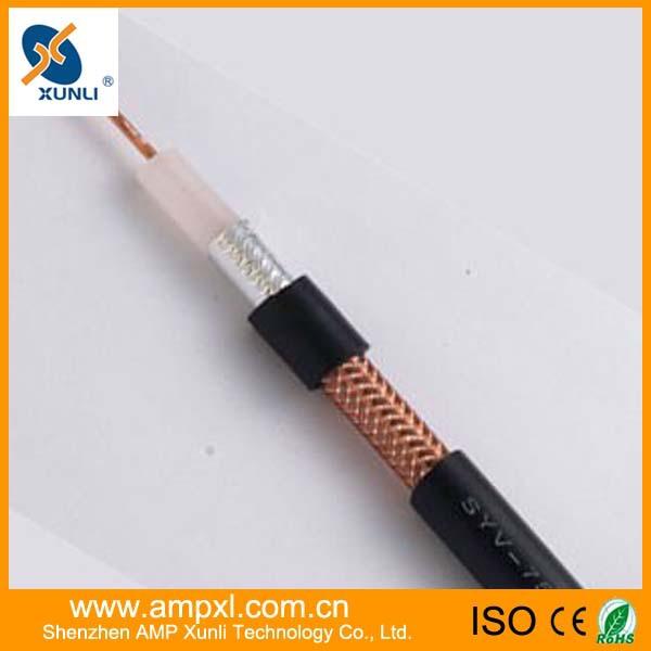 厂家直销 75-5全铜足芯足米同轴电缆安普兴利 27年优质生产