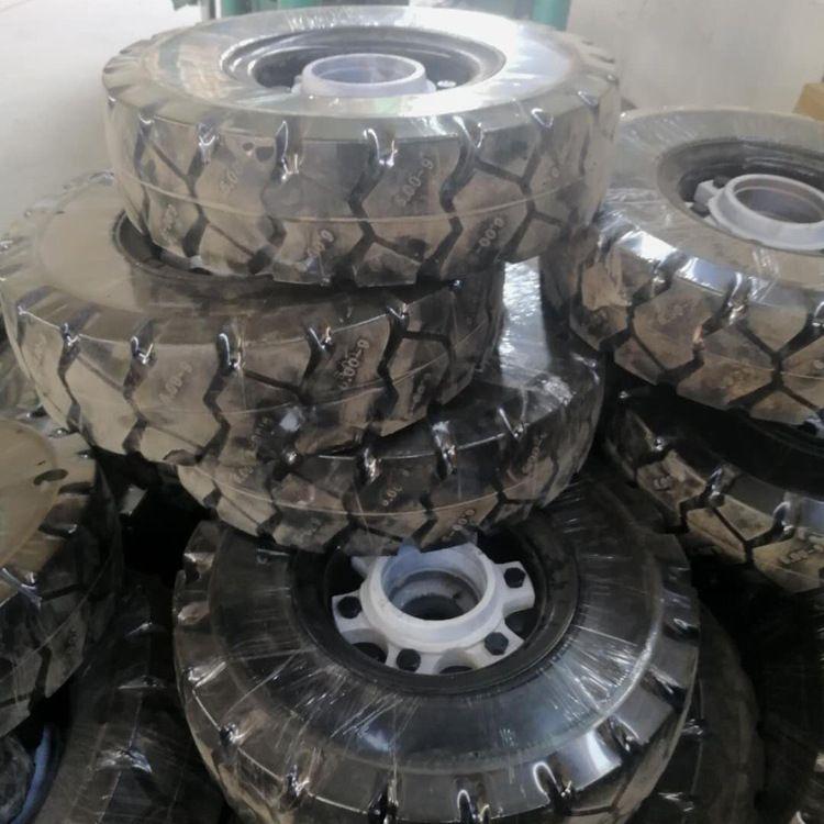 厂家直销 实心轮胎 300-8橡胶实心轮胎 电动灰斗车实心胎