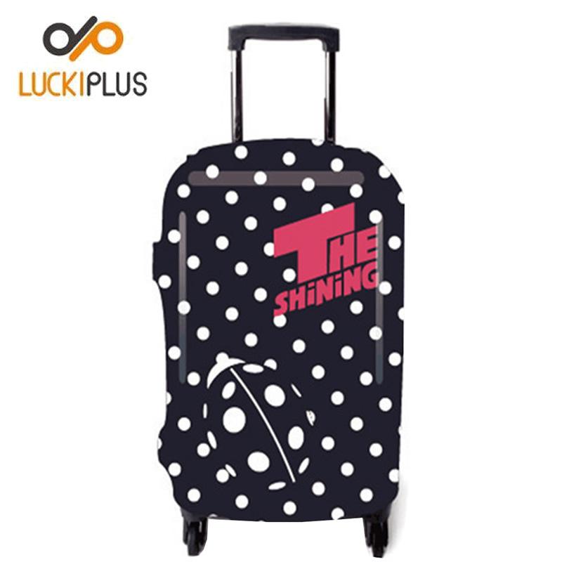 行李箱保护套 弹力箱包套 防污防尘罩 旅行箱套 波点加厚款 直销