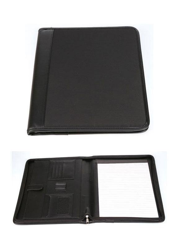 厂价直销 仿/真皮带拉链 商务万用手册  高档多功能包带计算器