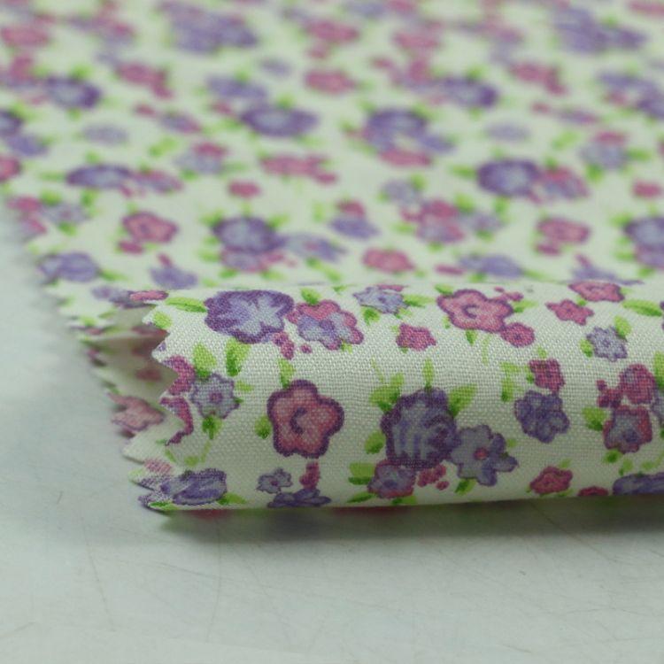 厂家直销 纯棉平纹碎花 衬衫面料服装内衬床品罩衣全棉里布