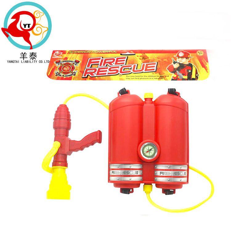 厂家直销批发热卖爆款儿童户外沙滩戏水玩具新款消防背包水枪