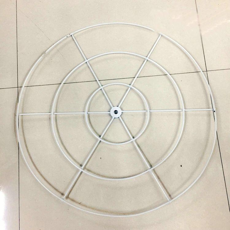 厂家直销新款铁艺单层圆环吊顶圆环架线帘架子花环婚庆道具空中吊