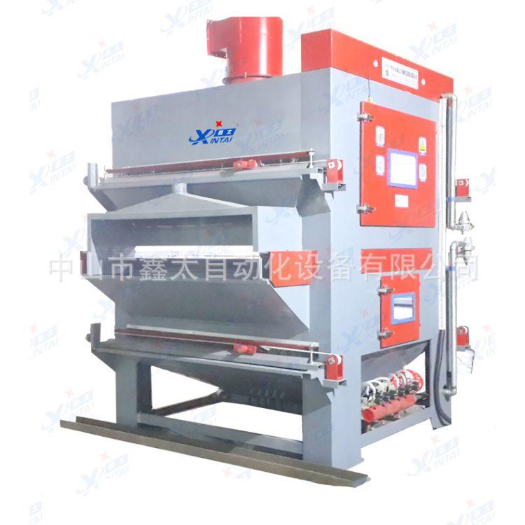 環保不銹鋼板材噴砂機大型不銹鋼板材噴砂機