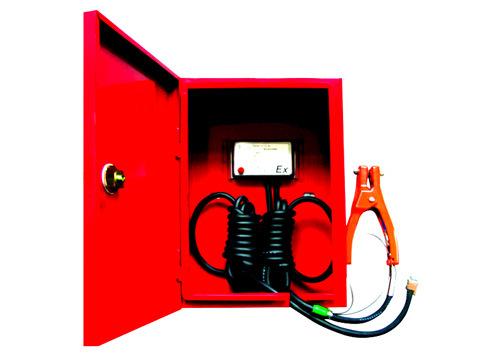 米昂电子厂家直供  陕西SP系列静电接地报警器 SP-E1固定式静电接地移动式装置