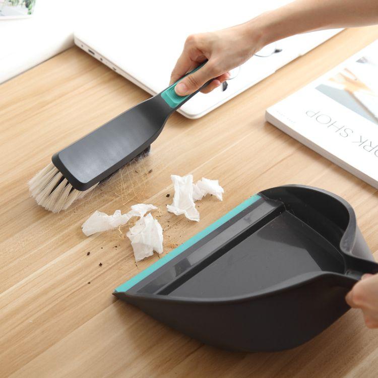 迷你小扫把簸箕套装创意家用清洁工具键盘刷小号桌面清洁套装组合
