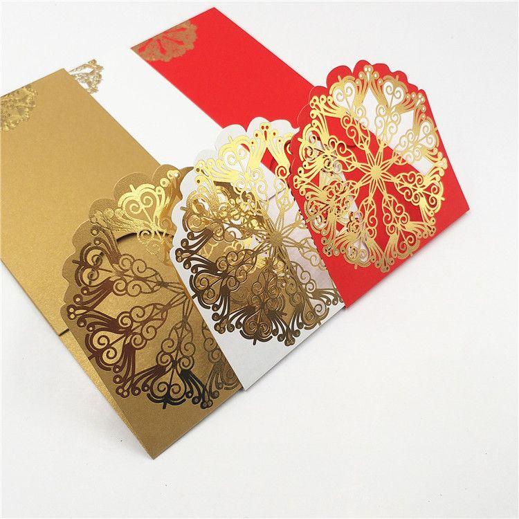 个性创意过年结婚红包定制 多种规格利是封定做 烫金红包定制logo