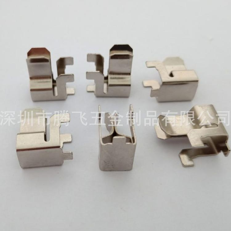 插座弹片 插头接触片 铜导电弹片 厂家直销插座五金配件量大从优