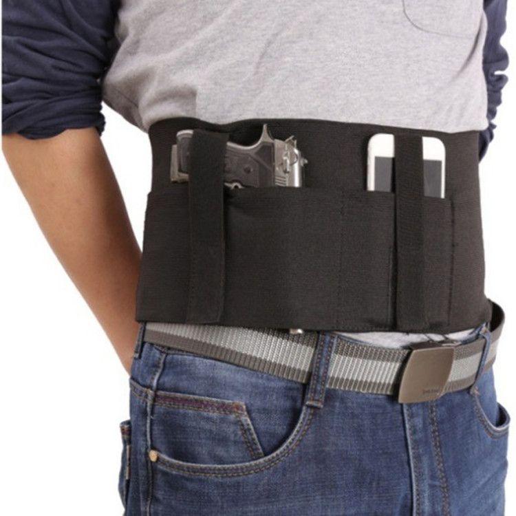 战术多功能束腰带 户外运动装备可调节弹力收腹隐形腰封 通用型号
