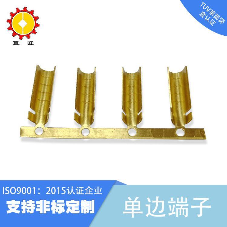 638端子厂家批发碳纤维端子发热单边端子电热电暖地暖线扣铜端子