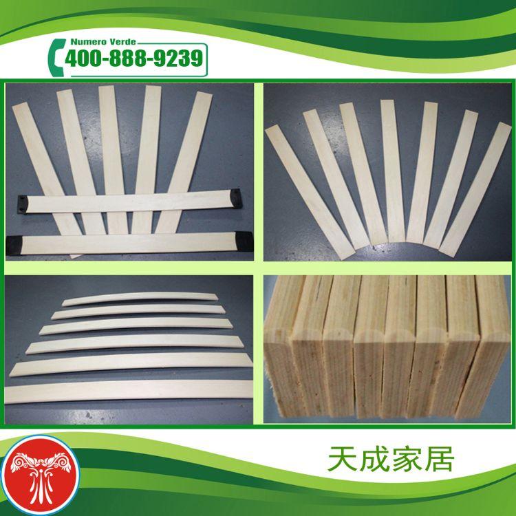 供应桦木床板条 100%纯桦木