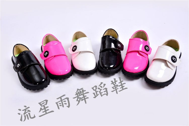 男童皮鞋2016新款儿童真皮皮鞋学生黑色皮鞋中大童演出皮鞋