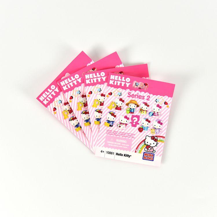 Hello Kitty 系列小猫玩具公仔手板乐潮摆台玩具塑料包装袋复合袋