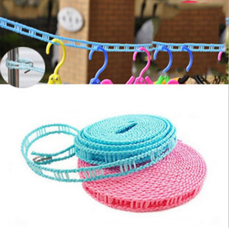 厂家直销家用旅游防风晾衣绳 晒衣繩3米5米可选 现货批发