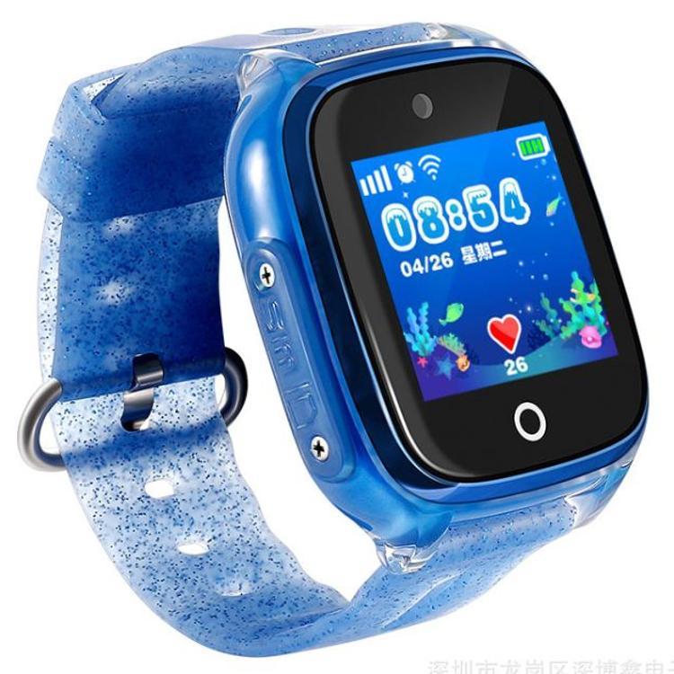 DF34儿童智能电话手表GPS定位智能手环计步男孩女孩ip68级防水