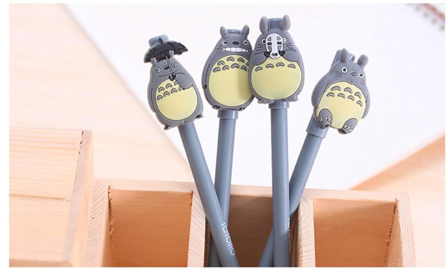 厂家直销 韩国创意文具 卡通可爱灰色猫黑色中性笔水笔签字笔