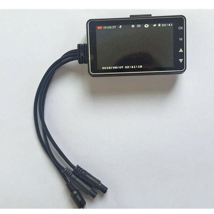 新款摩托车行车记录仪 机车记录仪 双路 摩托车行车记录仪