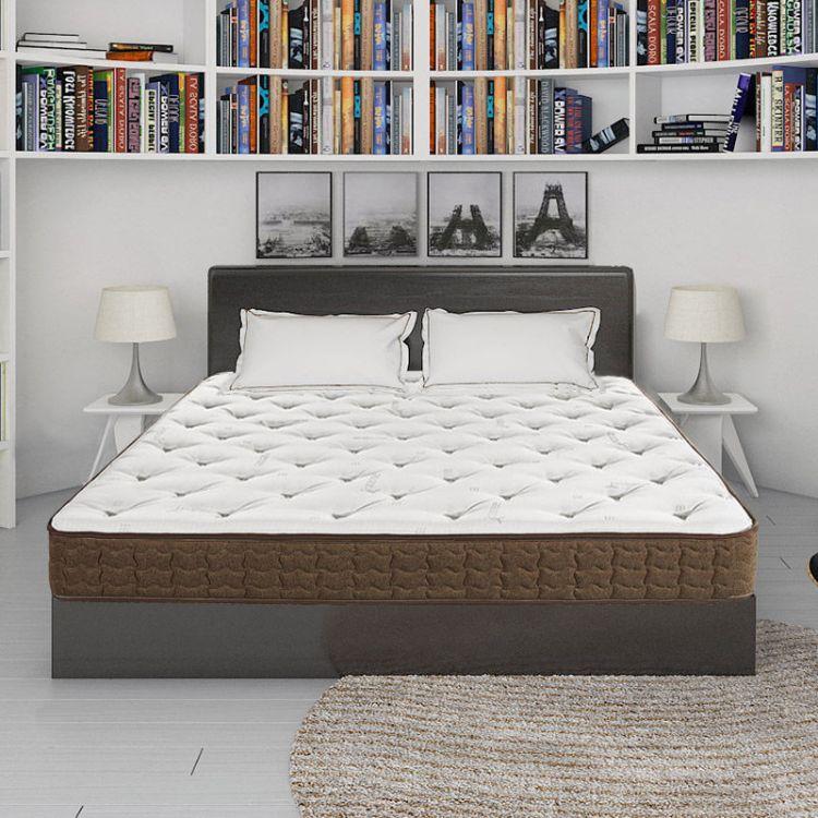 乔第儿童成人床垫酒店家用1.5米1.8米单双人加厚精钢弹簧床垫包邮