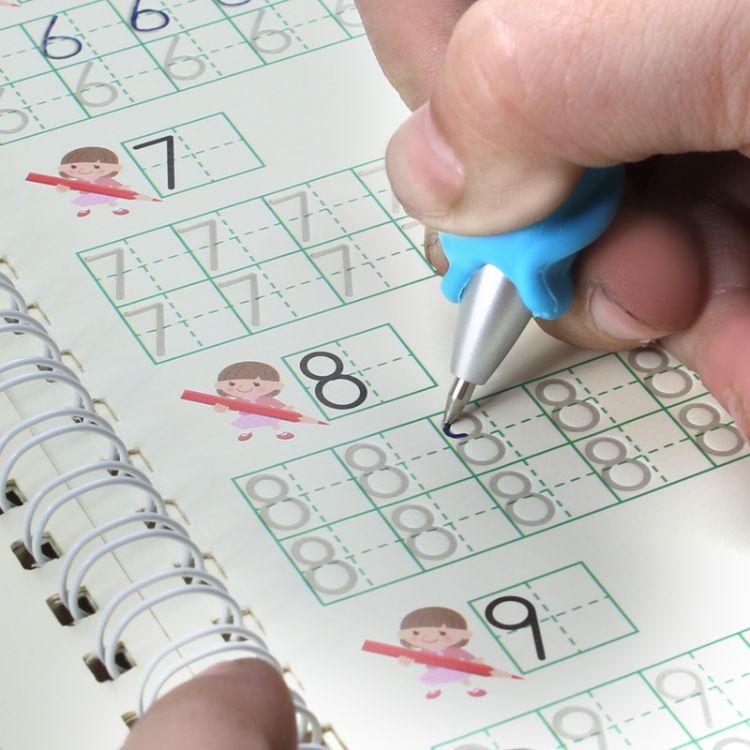8本礼盒装 儿童幼儿凹槽字帖魔法练字帖带笔幼儿学前速成练字本