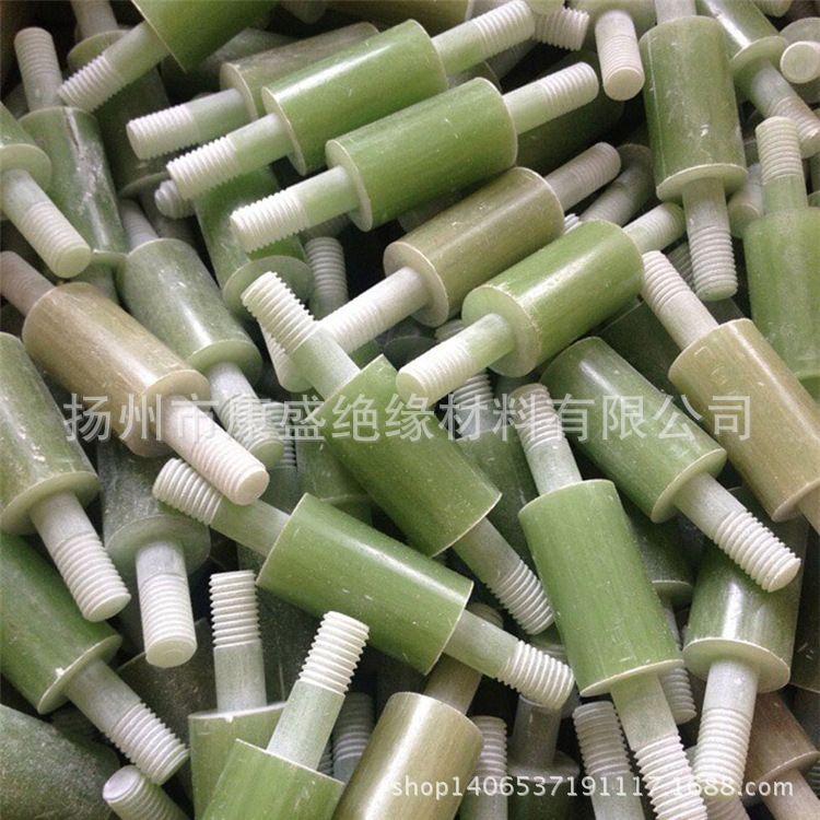 绝缘材料厂家加工玻璃纤维绝缘螺杆 高强度绿色复合绝缘套管加工