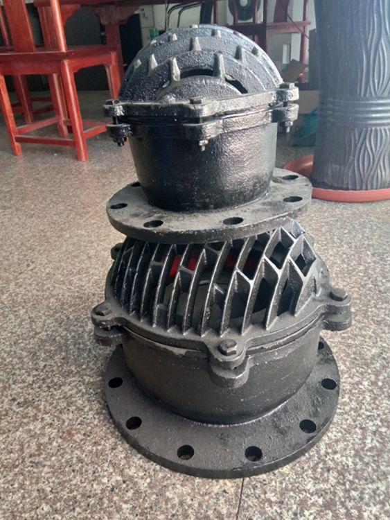 江山市抽水底阀  H42X-10 DN80 花篮式底阀 单向底阀 不锈钢底阀
