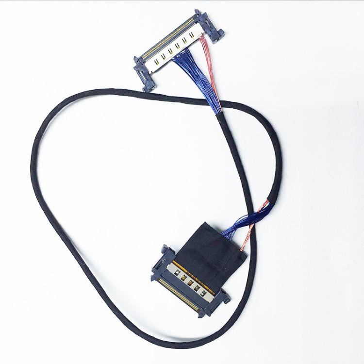 hdmi高清线液晶电视屏线LVDS屏线线束连接器视屏广告机lvds连接线