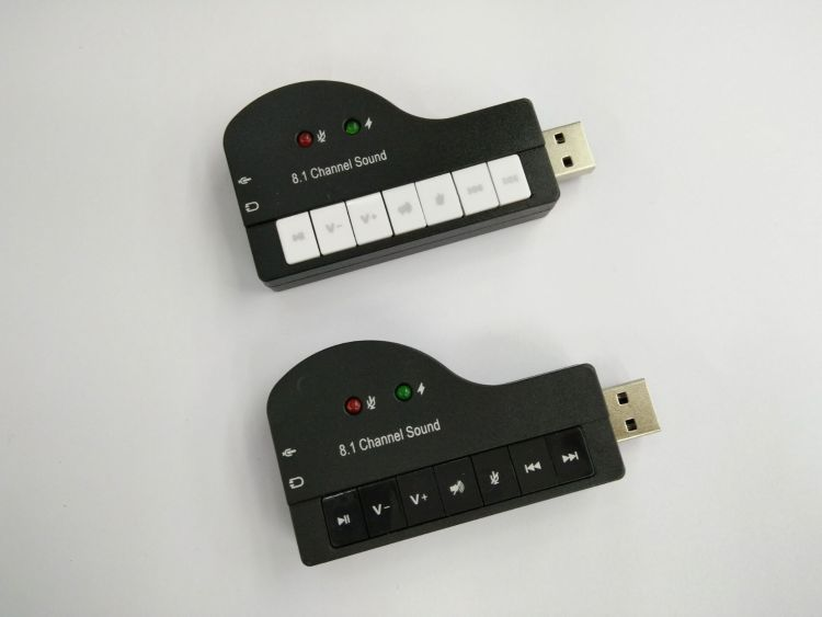 厂家供应USB声卡 钢琴声卡 8.1USB钢琴声卡