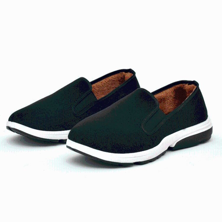 厂家批发2018年冬季新款军单棉鞋防滑工作鞋运动底加绒老北京布鞋