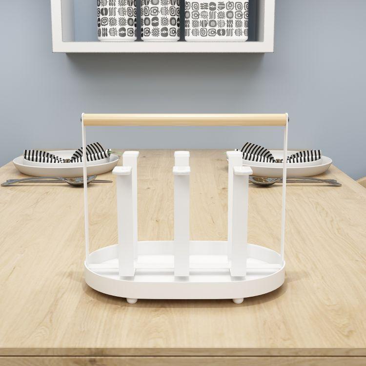 厂家直销客厅置物架日式水杯沥水架简约收纳水杯架