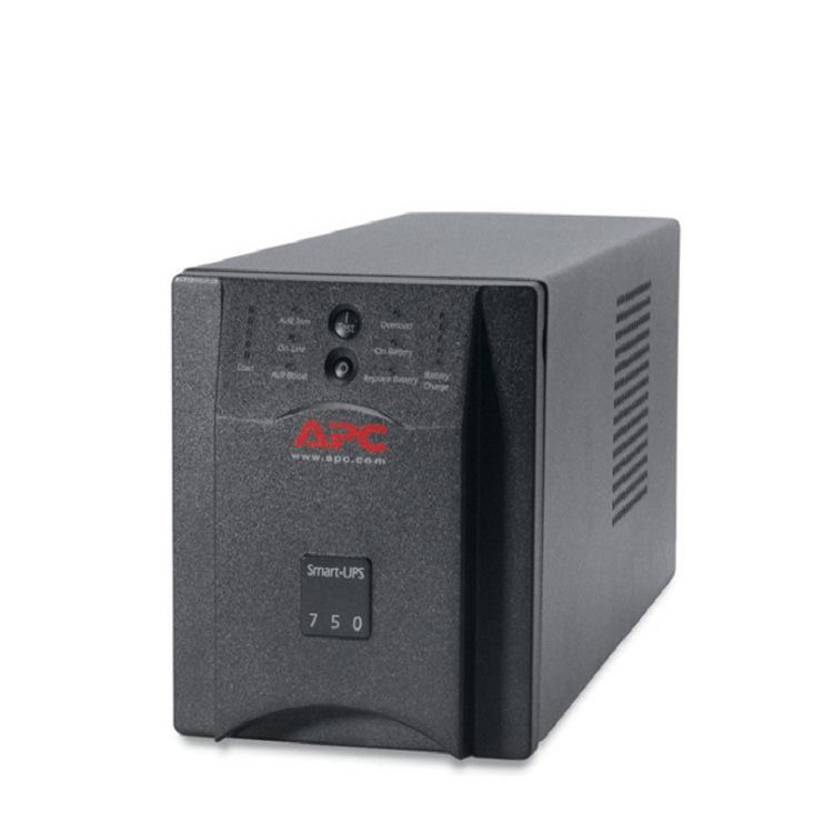 APC电源 SUA750ICH 500W 750VA 门禁安防报警监控备用 UPS电源