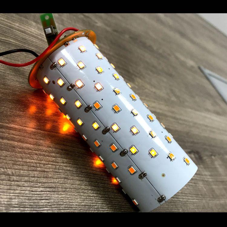 厂家供应太阳能火焰灯火炬灯庭院装饰灯光控外壳方案套料PCBA主控