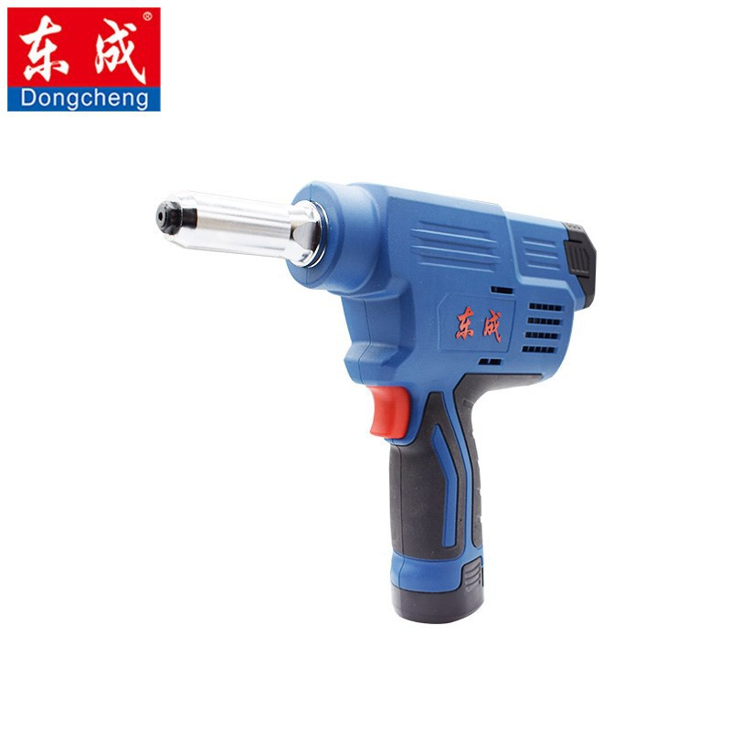 东成工业级充电式抽芯铆钉枪 DCPM50E型电动铆钉枪 铆接枪 拉钉枪