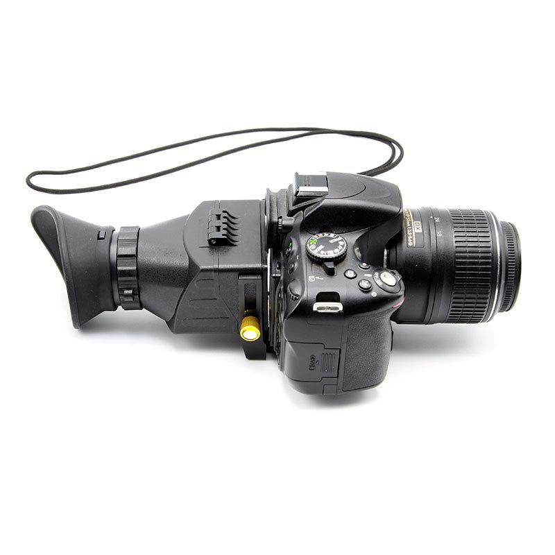 单反相机直角取景器 直角目镜放大微距变焦观景器格林尔厂家直销