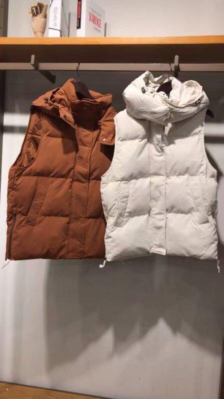 拉家代发2018秋冬新款连帽无袖背心棉服马甲外套宽松70010898